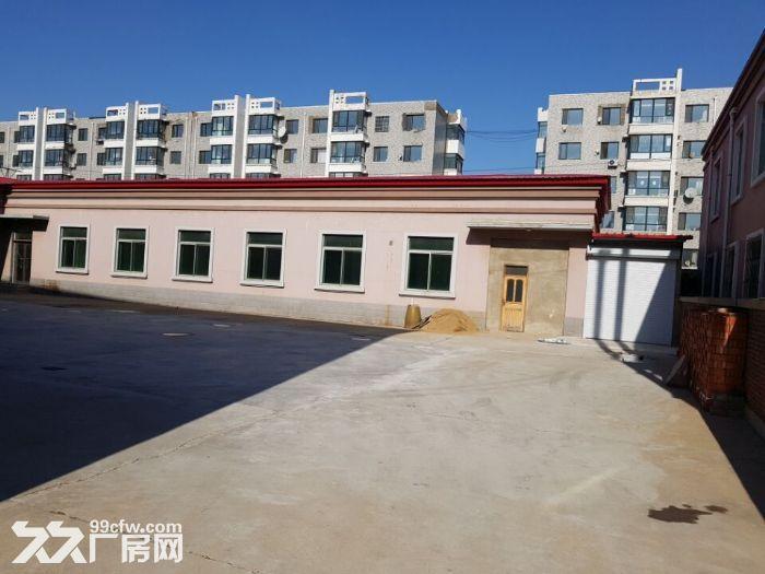 于洪沙岭四环边轻工业厂房,占地5亩,后院厂房800平高度3.5米,门市100平主-图(2)