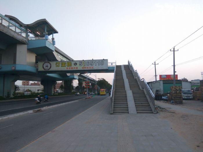 BRT出口100平+1000平空地=70个停车位置-图(1)