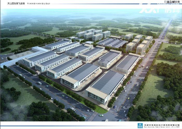 梅江商圈5−10亩定制庭院式厂房办公楼出售-图(1)