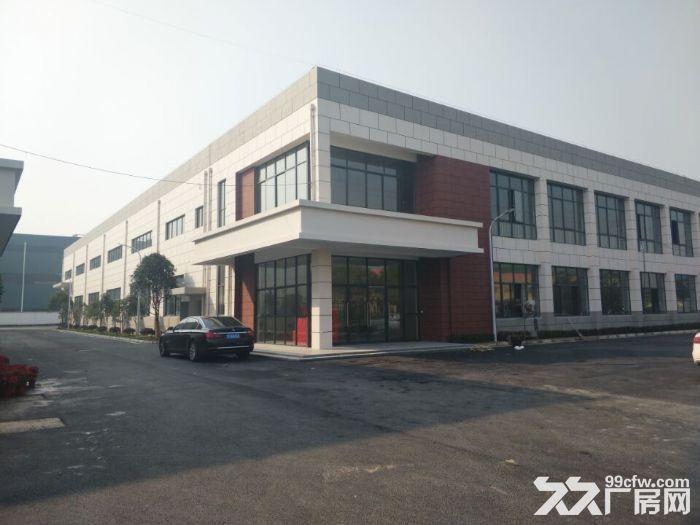 吴中越溪独门独院4500平米单层高9米带行车标准厂房出租-图(1)