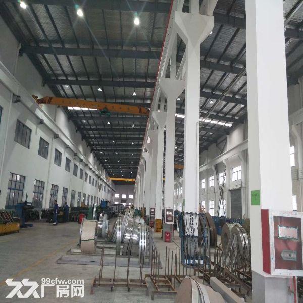 吴中越溪独门独院4500平米单层高9米带行车标准厂房出租-图(2)