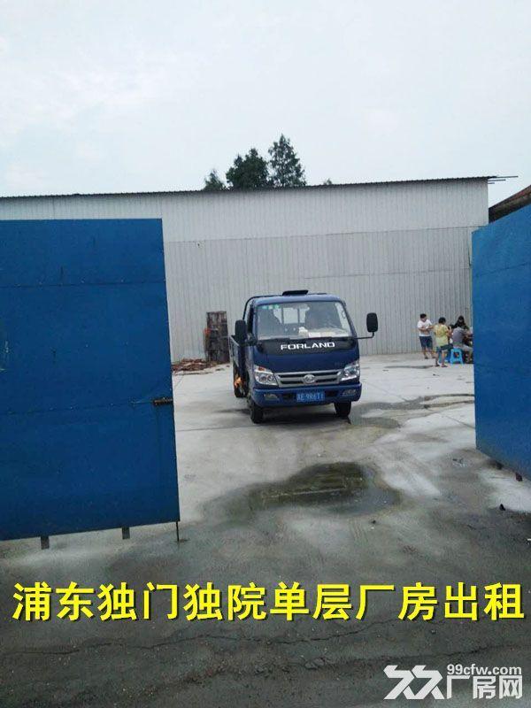 浦东惠南独门独院厂房出租非中介-图(1)