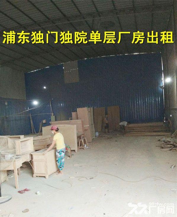浦东惠南独门独院厂房出租非中介-图(2)