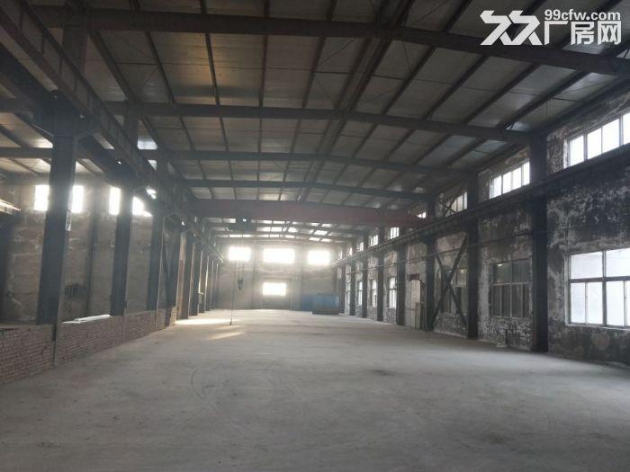 于洪区2000平厂房出租:厂房面积2000平,吊车10吨/5吨,举架9米,动-图(1)