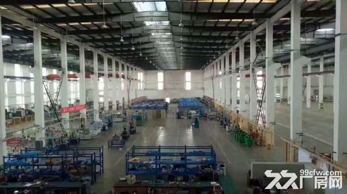 雷甸高速出口2100方单层钢结构厂房出租,层高12米带行车-图(1)