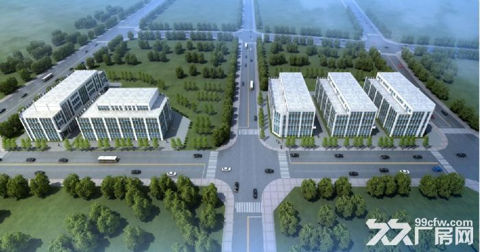 独门独院、手续齐全外环旁园区5亩起定制3000平米独栋厂办楼、厂库房出售-图(2)