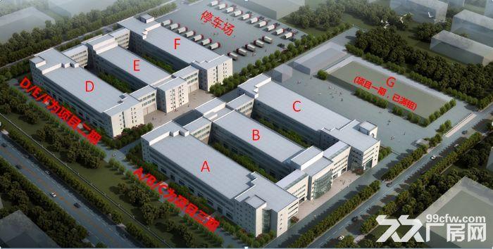 丙2类框架混凝土结构厂房,检测类、研发类企业首选(政府招商)-图(4)