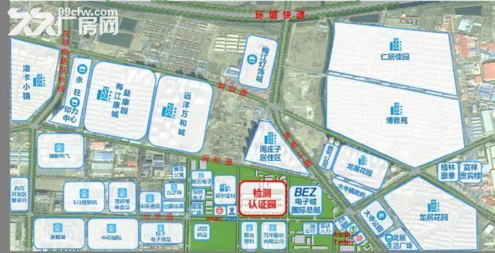 丙2类框架混凝土结构厂房,检测类、研发类企业首选(政府招商)-图(6)
