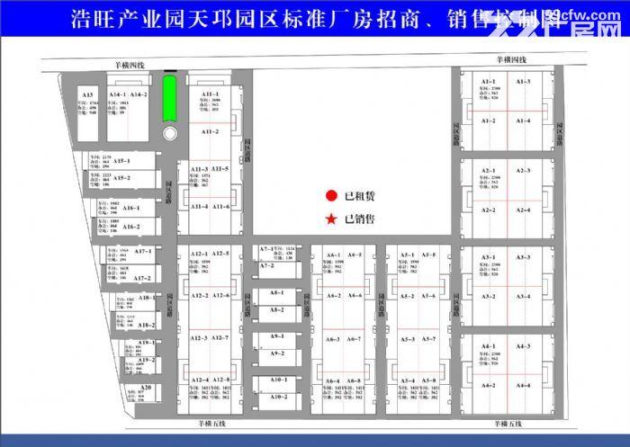 正规工业园区标准厂房大小均有环评无忧-图(5)