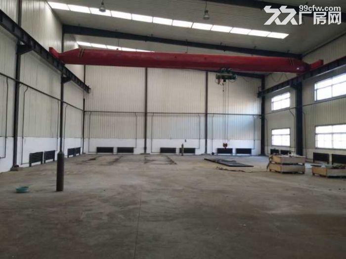 于洪区机床城厂房700平,办公300平出租。厂房彩钢结构,举架8米,吊车5吨,动-图(1)
