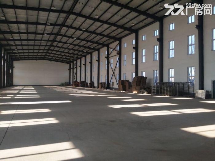 苏家屯汽车产业园厂房5000平出租。厂房彩钢结构,2跨高度9米,带天吊5吨10吨-图(1)
