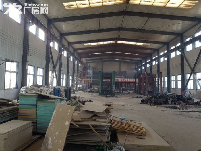 铁西开发区厂房1700平出租,厂房彩钢结构,举架9米,有吊车梁,动力电250千瓦-图(1)