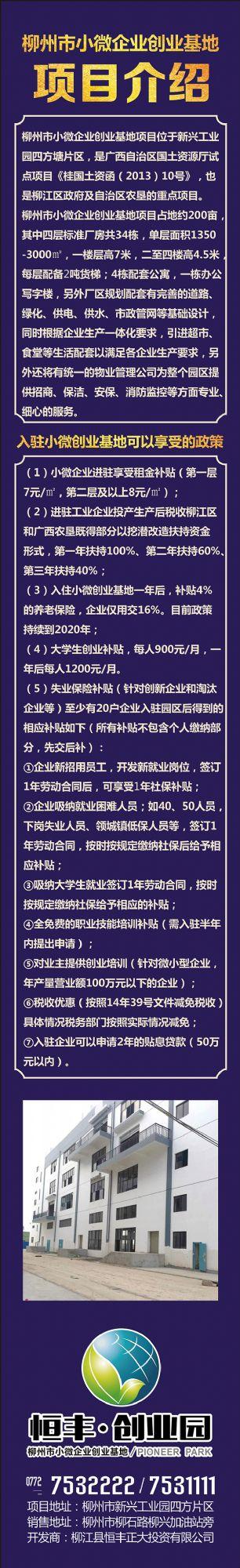 出租新兴工业园区标准厂房(享受政府补贴8元/米)-图(5)