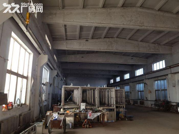 皇姑观音村有厂房1100平,办公楼500平出租。厂房砖混结构,举架10米,有2.-图(1)