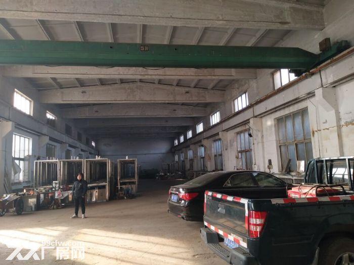 皇姑观音村有厂房1100平,办公楼500平出租。厂房砖混结构,举架10米,有2.-图(2)