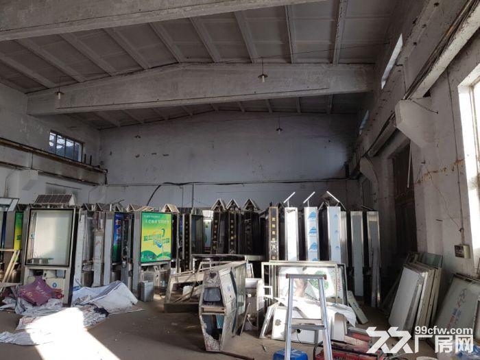 皇姑观音村有厂房1100平,办公楼500平出租。厂房砖混结构,举架10米,有2.-图(3)