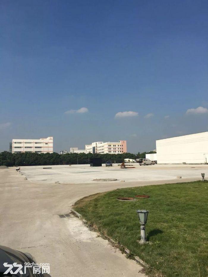 青浦工业区30亩水泥硬化空地和4000平方单层厂房仓库出租,绿证-图(5)