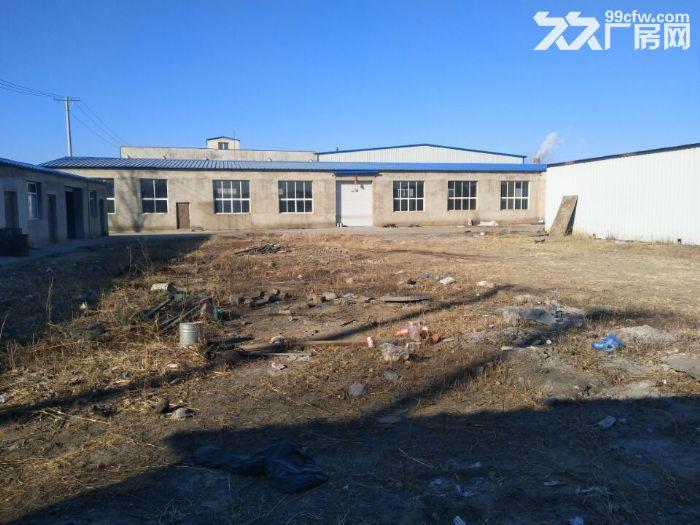 于洪区机床城附近厂房2000平,办公500平出租,占地6亩,厂房砖混结构,举架6-图(1)