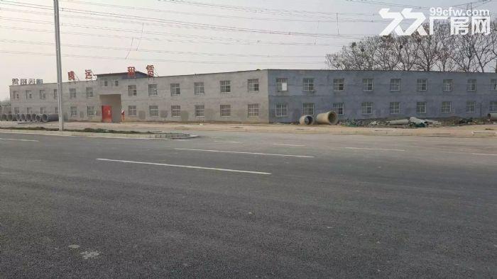 独立小院5亩,二层1000平方小楼,适合办学,办厂,仓储。-图(1)