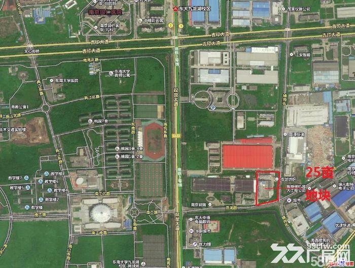 江宁开发区位置极佳,东南大学双龙大道土地和厂房出售-图(3)