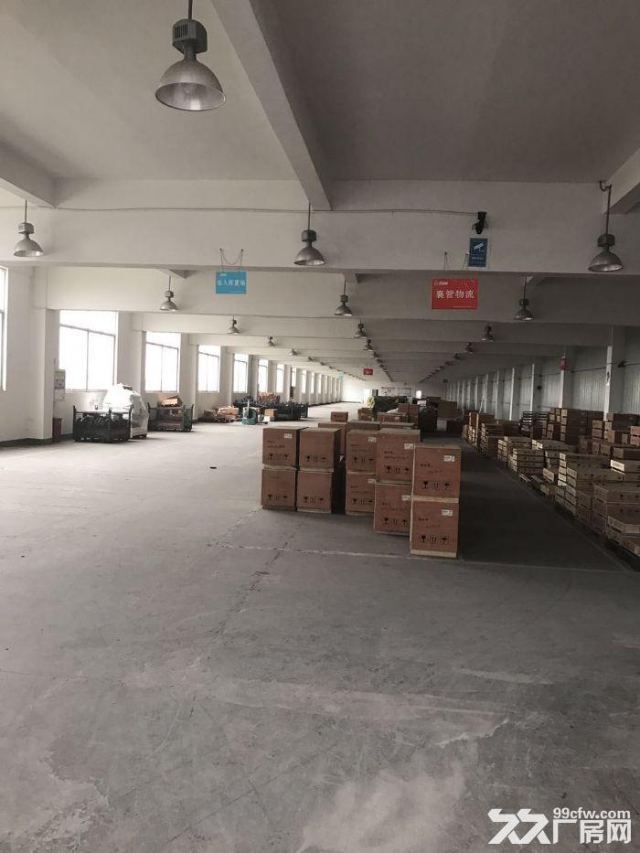 新区梅村金城东路高架旁6600平米可以分租-图(1)