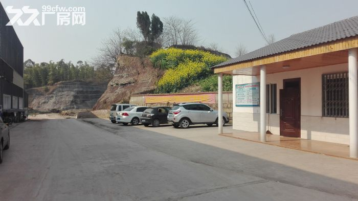 内江市威远县龙会镇标准钢结构厂房出租(3300平方)-图(2)