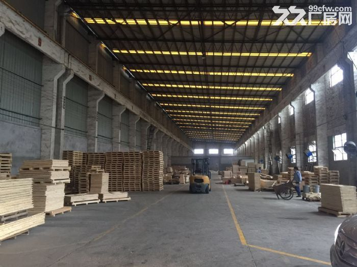 单层仓库,层高12米,大车可入库,带5吨行车。道路宽,价格低-图(1)