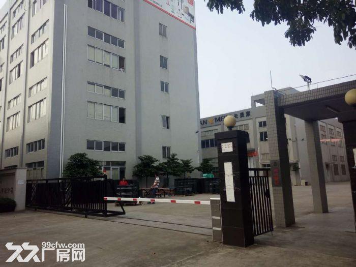 高明福湾工业区单层钢结构厂房出租-图(1)