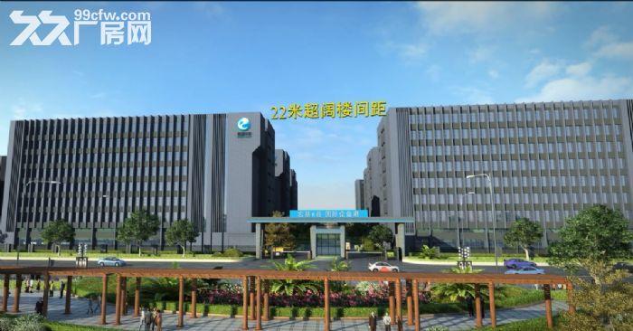 全新标准厂房首付低至90万有证有消防中山大型工业园厂房-图(3)