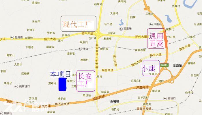 江北鱼嘴鱼复工业园62000平米标厂房可分租-图(4)