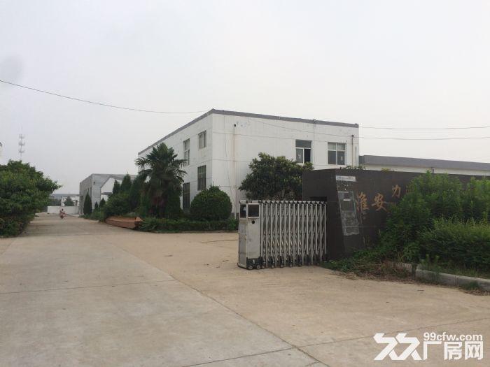 清浦工业园(主干道)第一排排独栋厂房(带独立办公楼)-图(1)