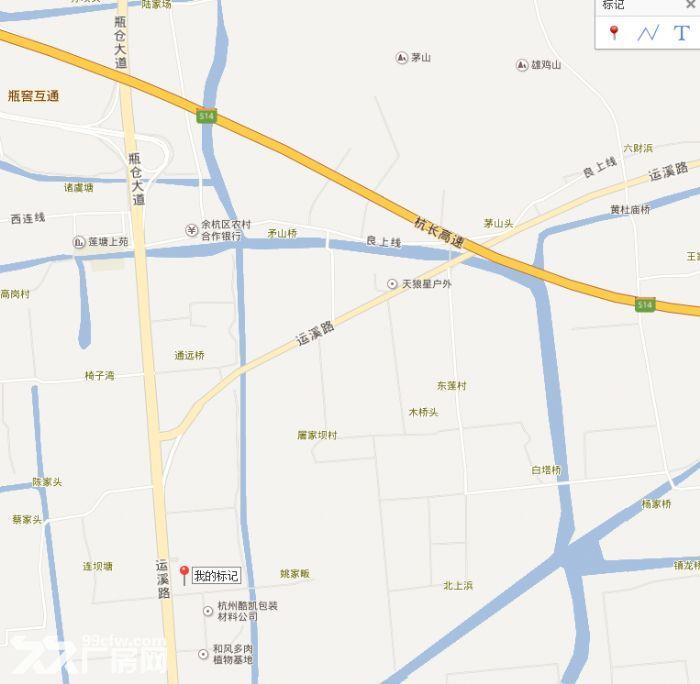 仓前镇东西大道旁毗邻百世物流的场地出租-图(2)