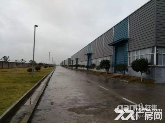 上饶玉山工业园4万方厂房出租,单层一楼层高9.6米钢结构花园式工业园-图(2)