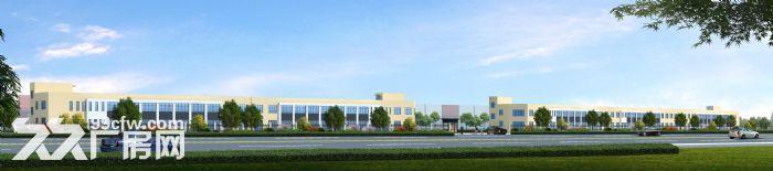 上饶玉山工业园4万方厂房出租,单层一楼层高9.6米钢结构花园式工业园-图(1)
