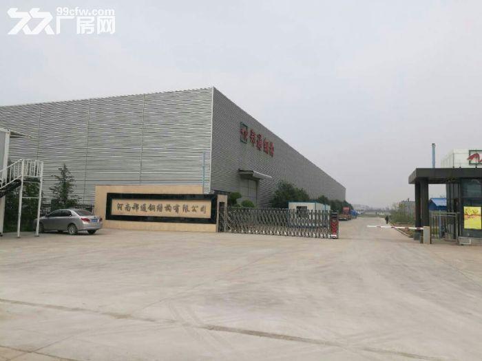 河南郑通钢结构有限公司厂房和空地出租-图(1)