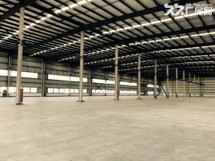 园区标准钢构厂房13米高5吨行车专变大车进出方便-图(4)