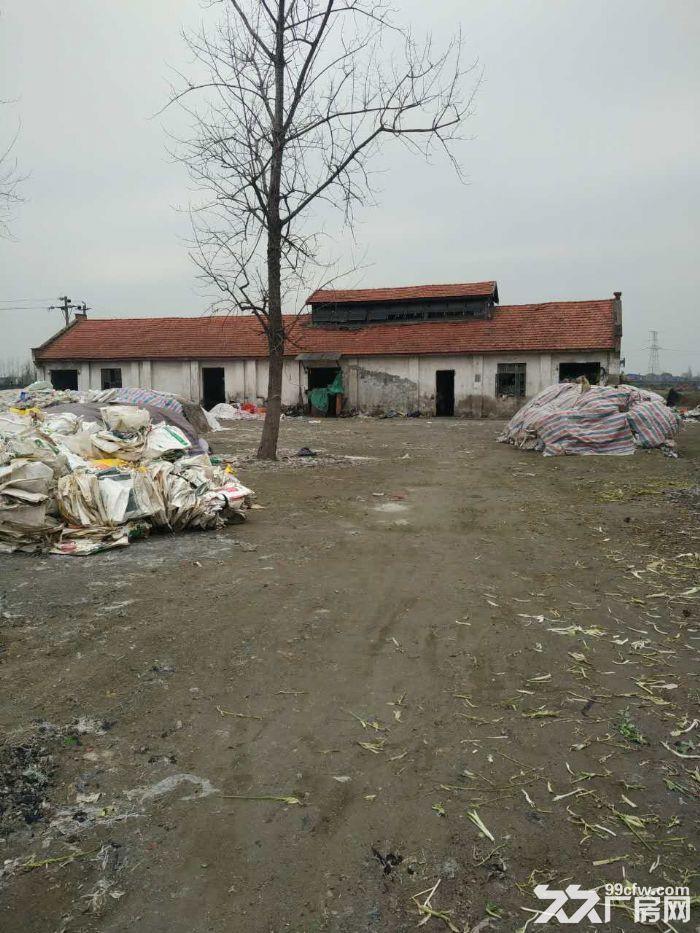 新河经济开发区旁旧厂房土地出售-图(2)