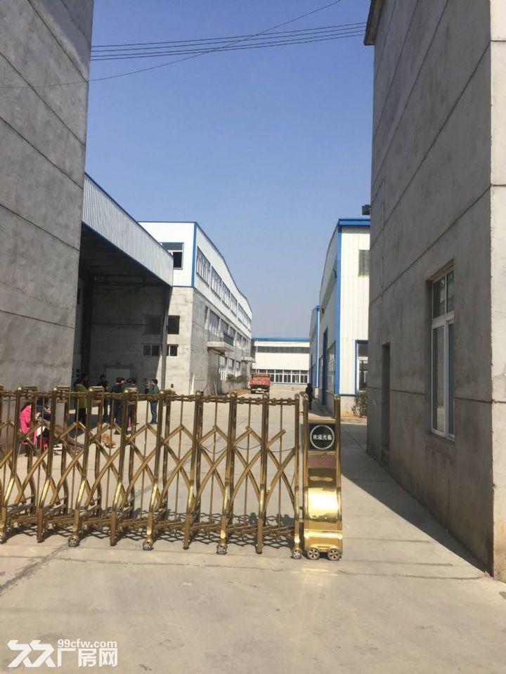郑店私人独院钢构和框架结构厂房出租,交通便利、环境好-图(1)