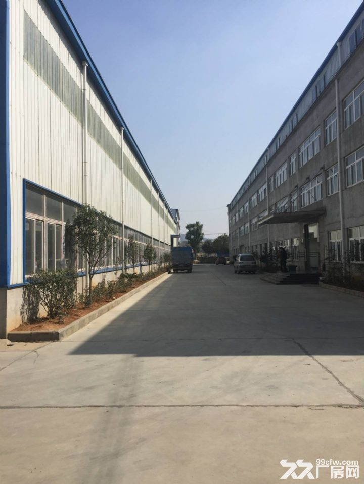 郑店私人独院钢构和框架结构厂房出租,交通便利、环境好-图(3)
