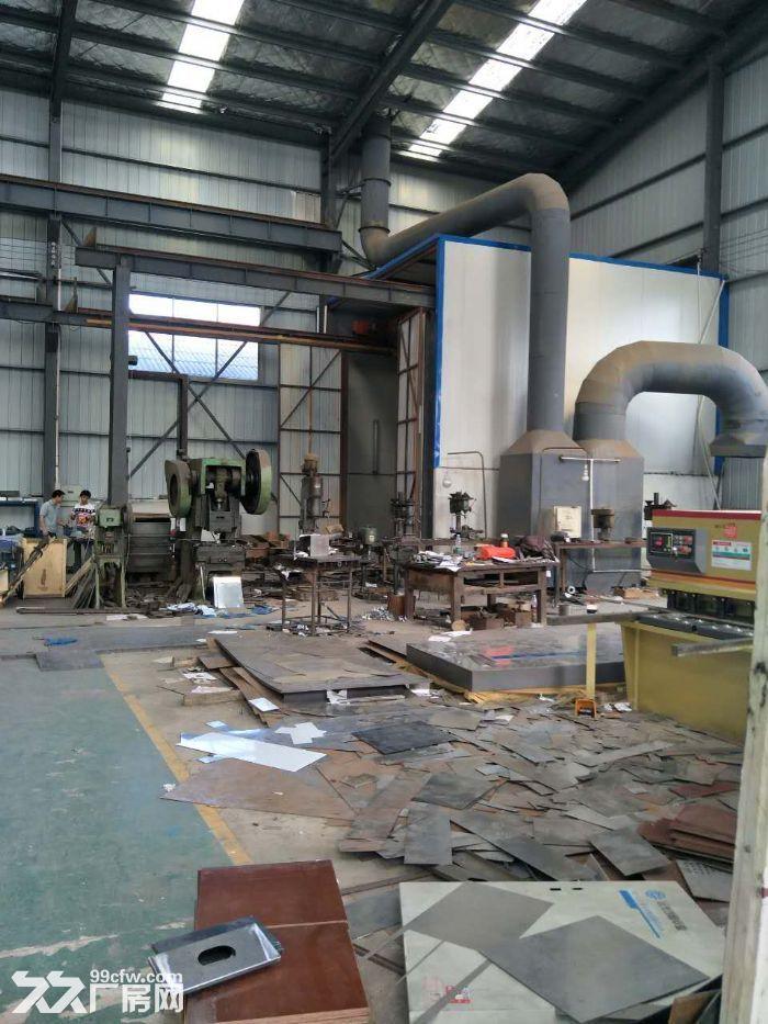 沙坪湘绣城标准钢架结构厂房-图(5)