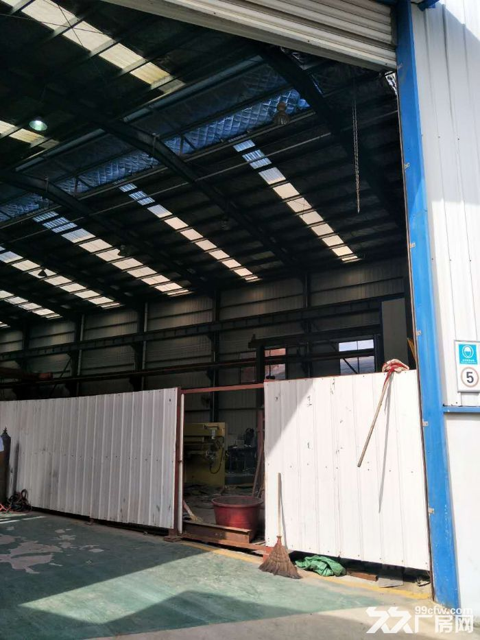 沙坪湘绣城标准钢架结构厂房-图(8)