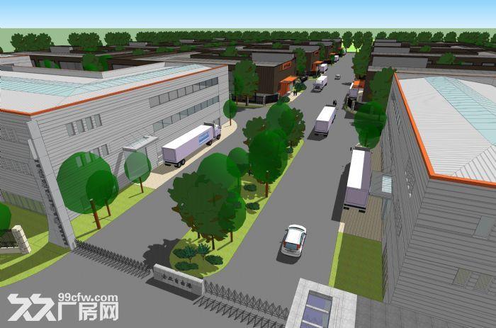2000至3100平大开间钢构厂房出售-图(2)