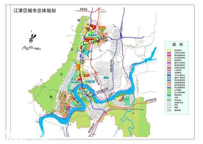 双福高速口轻轨线旁30亩土地整体出售-图(1)