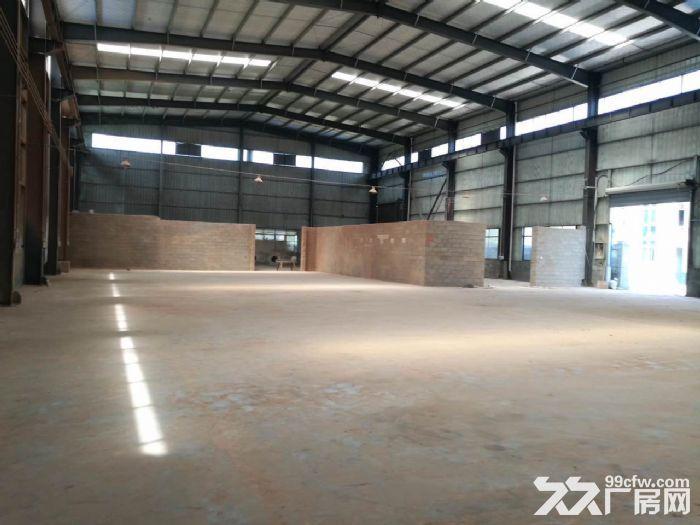 有产权标准钢架结构厂房出租