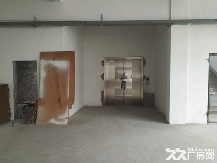 胡埭6000平米漂亮轻工业厂房可分租一半-图(1)