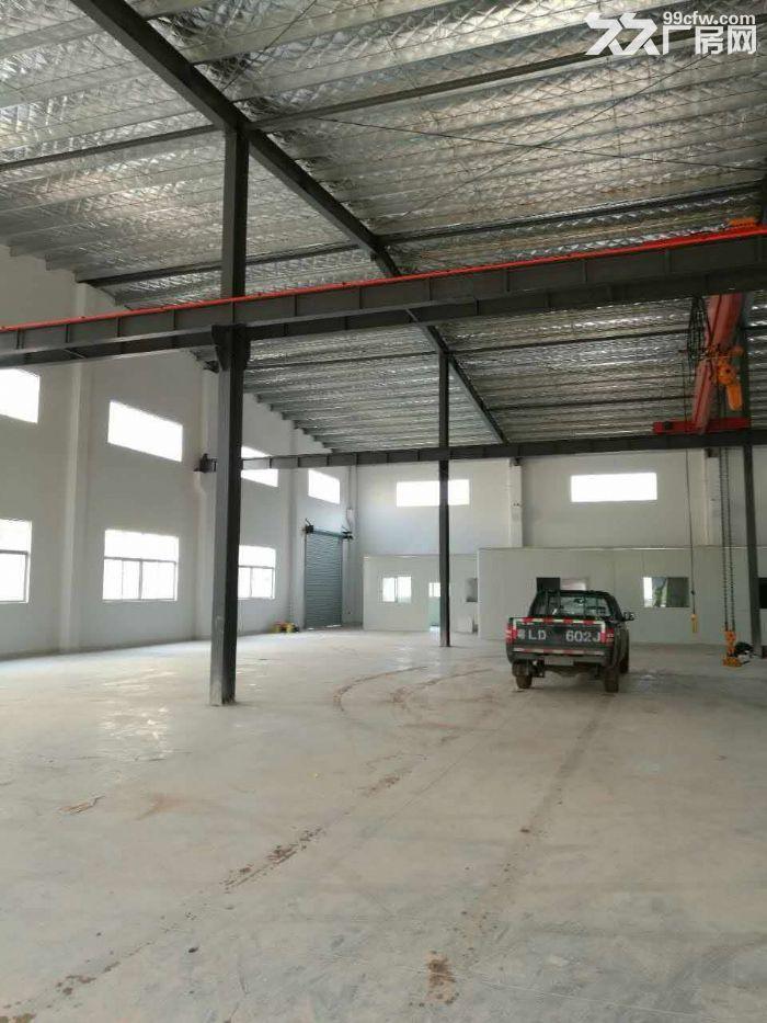 滴水10米单栋7000平方混凝土带牛腿钢结构厂房招租电500千瓦