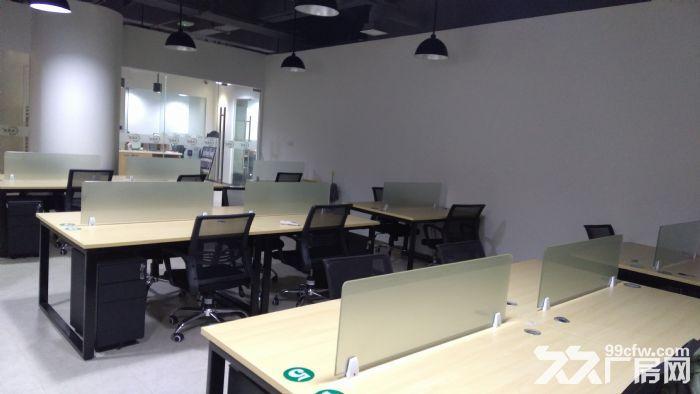 地铁旁高端写字办公300起租还有部分工位以及开放办公空间-图(1)