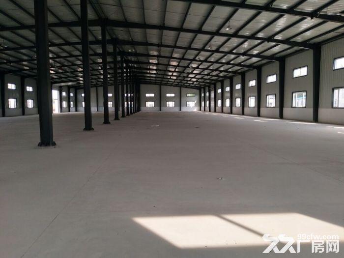 浑南区附近新建厂房3000平办公400平出租。厂房彩钢结构,举架8米,动力-图(1)