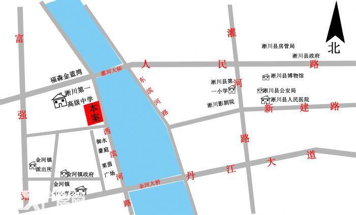 河南淅川县淅川县一高旁20亩商住用地招商资料-图(1)