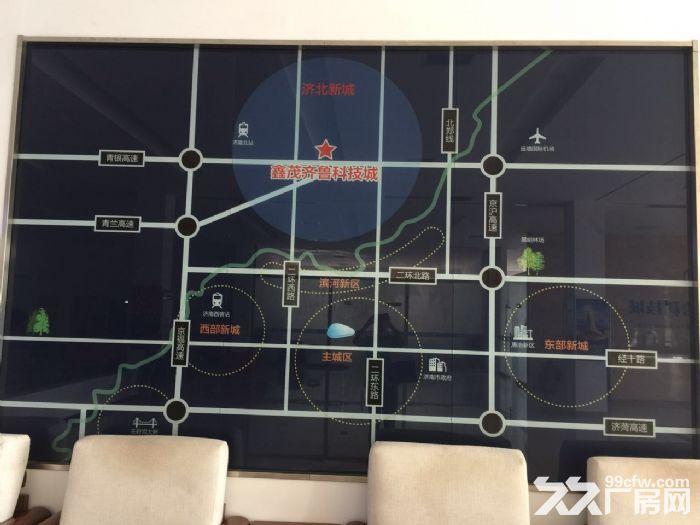 桑子店新材料产业园,錱茂齐鲁科技城,工业综合用地厂房,1327平,400平独院-图(4)